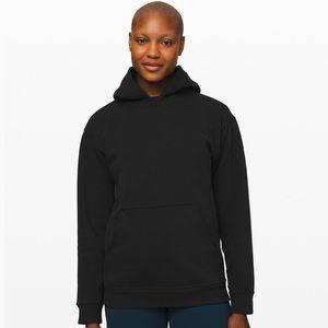 Lululemon Womens Black Hooded Sweatshirt Pullover